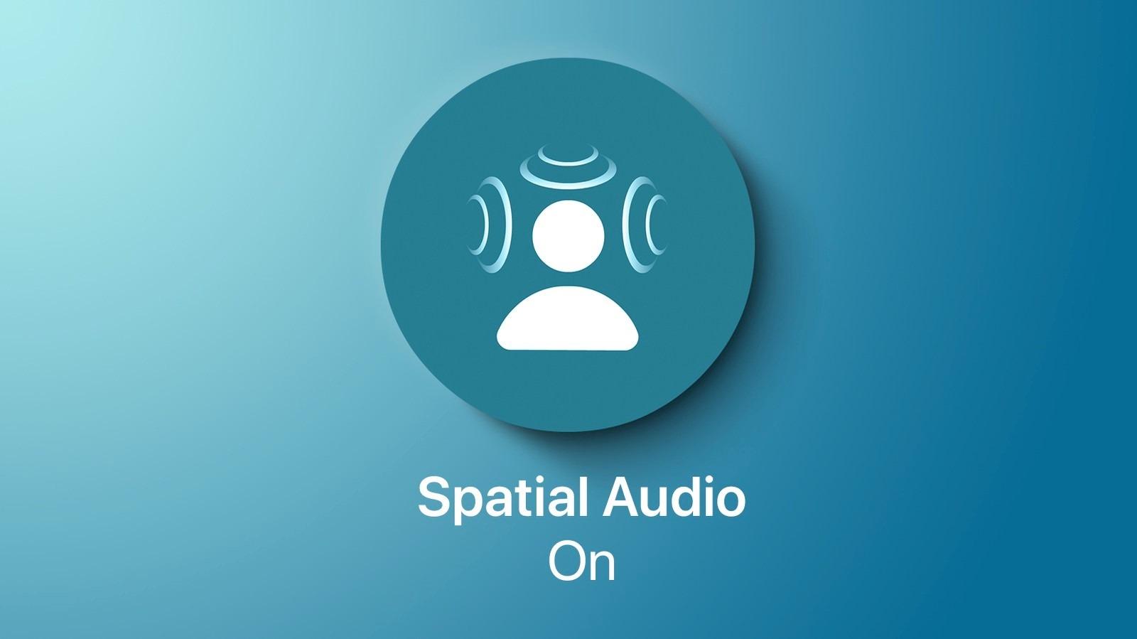 Spatial audio در اپل موزیک